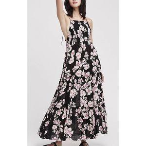 New Free People Garden Party Maxi Floral Dress